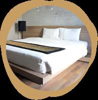 旅館・ビジネスホテル向けのマットレスやフェリー用のマットレス